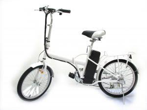 Basikal elektrik jenis lipat – jimat ruang