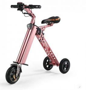 Basikal elektrik kecil dan portable