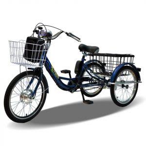 Basikal elektrik 3 roda untuk keseimbangan terkawal