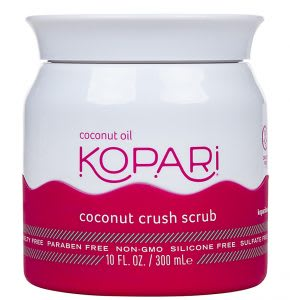 Best leg scrub with coconut oil - suitable for strawberry legs and dark pores
