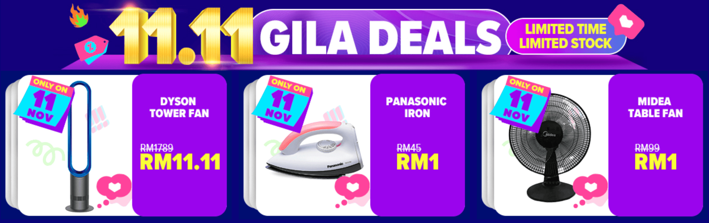 RM 1 Mestibeli deals lazada malaysia
