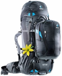 Best front-loading travel backpack with shoe compartment and detachable daypack