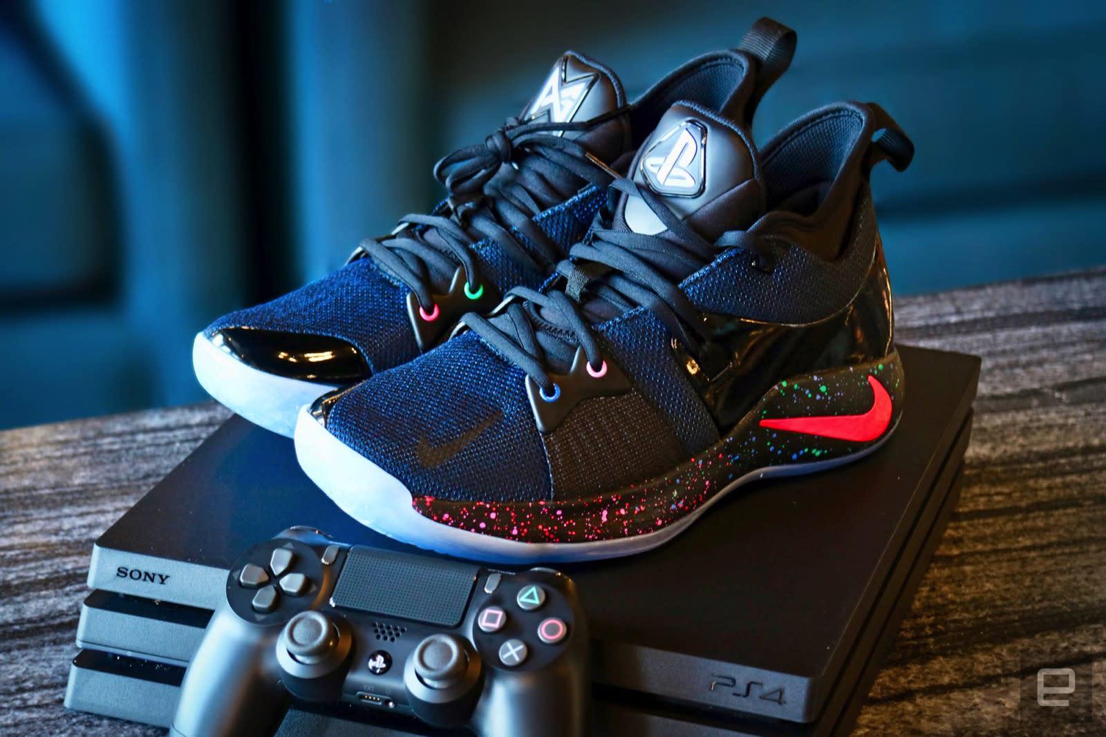 Playstation x Nike PG2 skor 2019Sneakers, Nike skor 2019 Sneakers, Nike