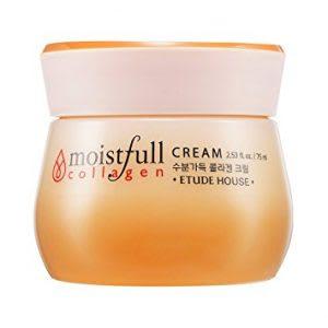 Collagen night cream and moisturizer