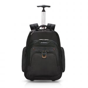 Best wheeled travel backpack with RFID protection