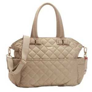 Best quilted diaper bag for double stroller with changing pad