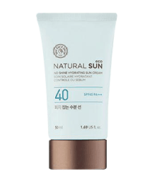 Water-based sunscreen for combination skin