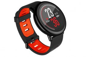 Round Android sports watch