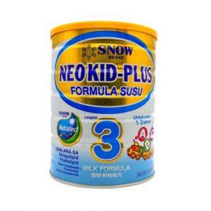 Susu terbaik untuk kanak-kanak berusia 1 – 3 tahun
