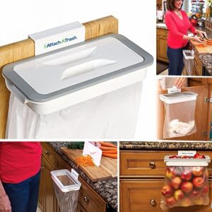 Best for easy cleaning of vegetable peels and kitchen trash
