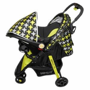 Stroller kombinasi carseat untuk bayi di mobil