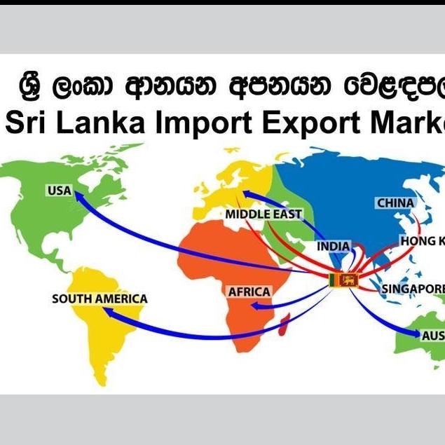 Sri Lanka Import Export Market-ශ්රී ලංකා ආනයන අපනයන වෙලඳපොල