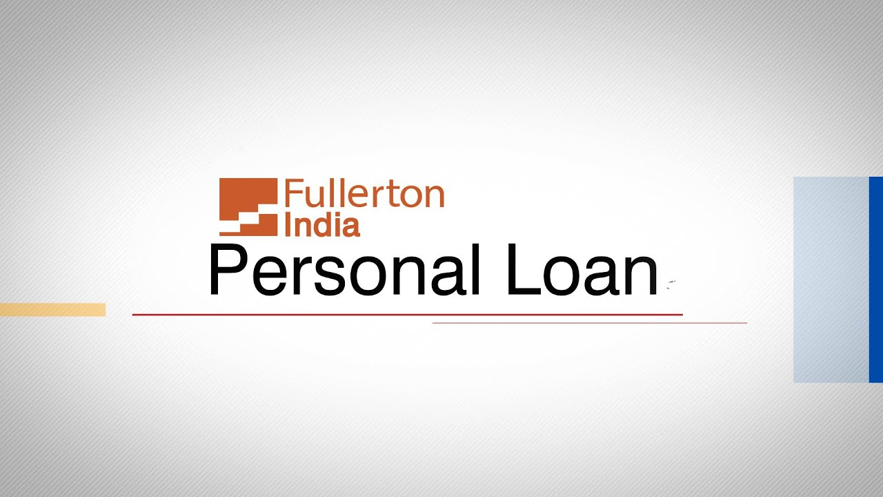 Personal Loan in Bangalore from Fullerton