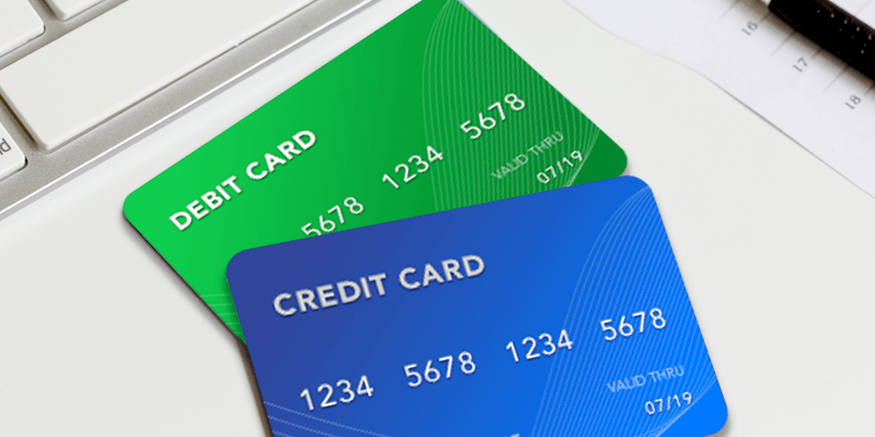 What should I use credit or debit card for bill payments