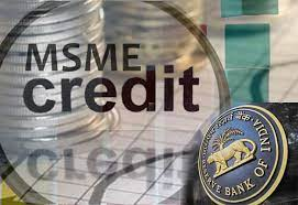 Credit Facilitation Scheme for MSMEs