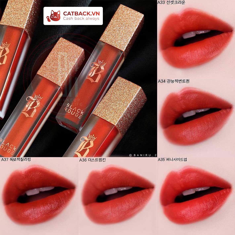 Son môi Black Rouge Air Fit Velvet Tint