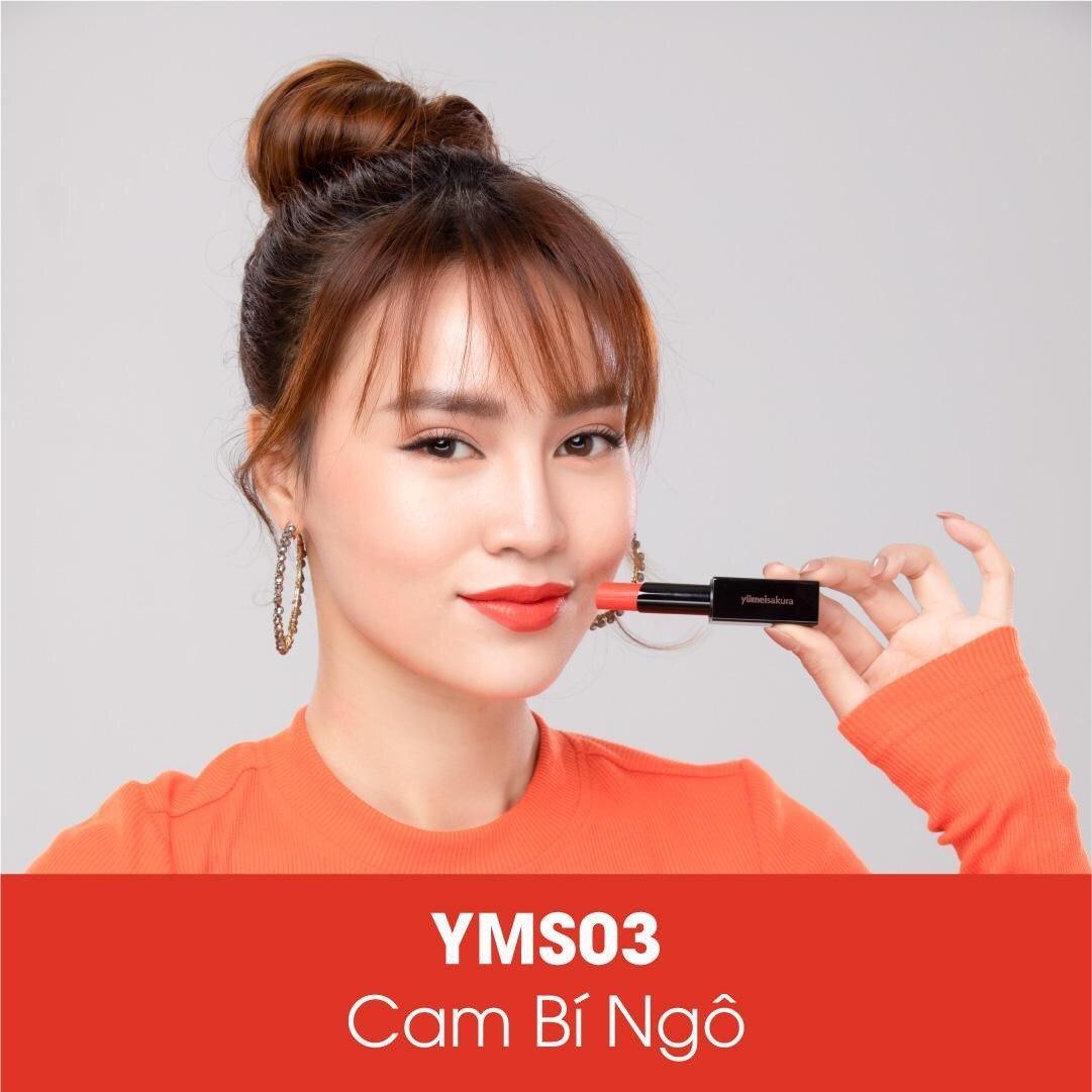YMS03 Pumpkin Orange - Cam bí ngô.