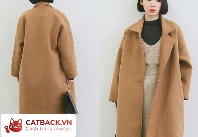 Mẫu áo khoác hút mắt Blazer hai 2 túi, dáng dài