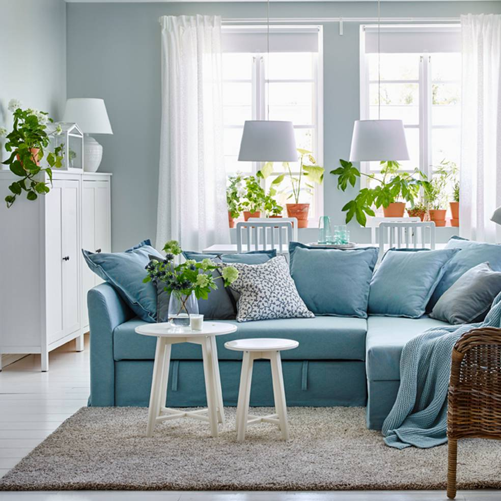 Tân trang nhà cửa bằng màu xanh của cây cảnh