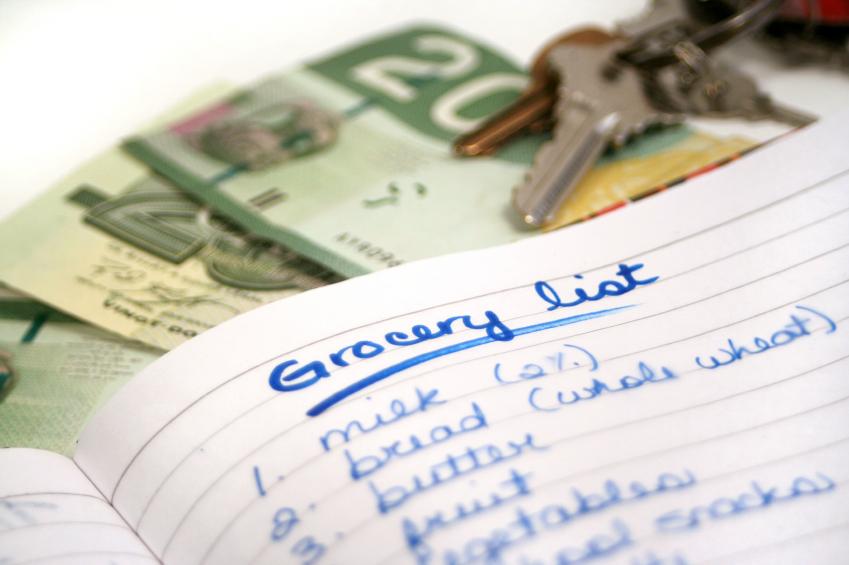 Mua sắm tiết kiệm - lên danh sách các đồ dùng thực sự cần mua