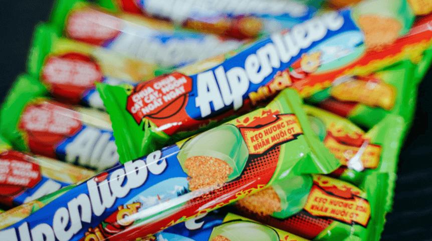 Kẹo Alpenliebe xoài non muối ớt – Sự kết hợp táo bạo không tưởng