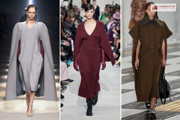 áo choàng không tay - xu hướng thời trang thu đông 2021