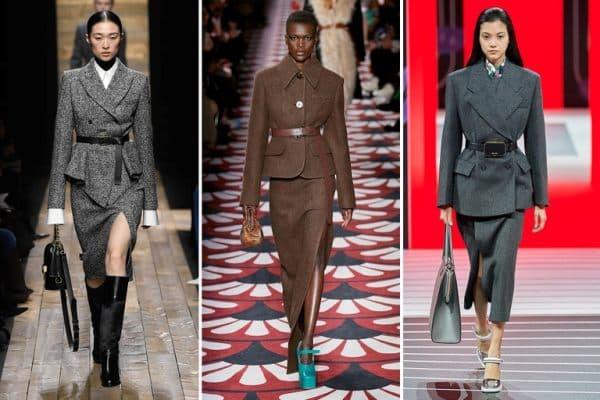 Xu hướng thời trang thu đông 2021 - Áo dạ với phần nam tính
