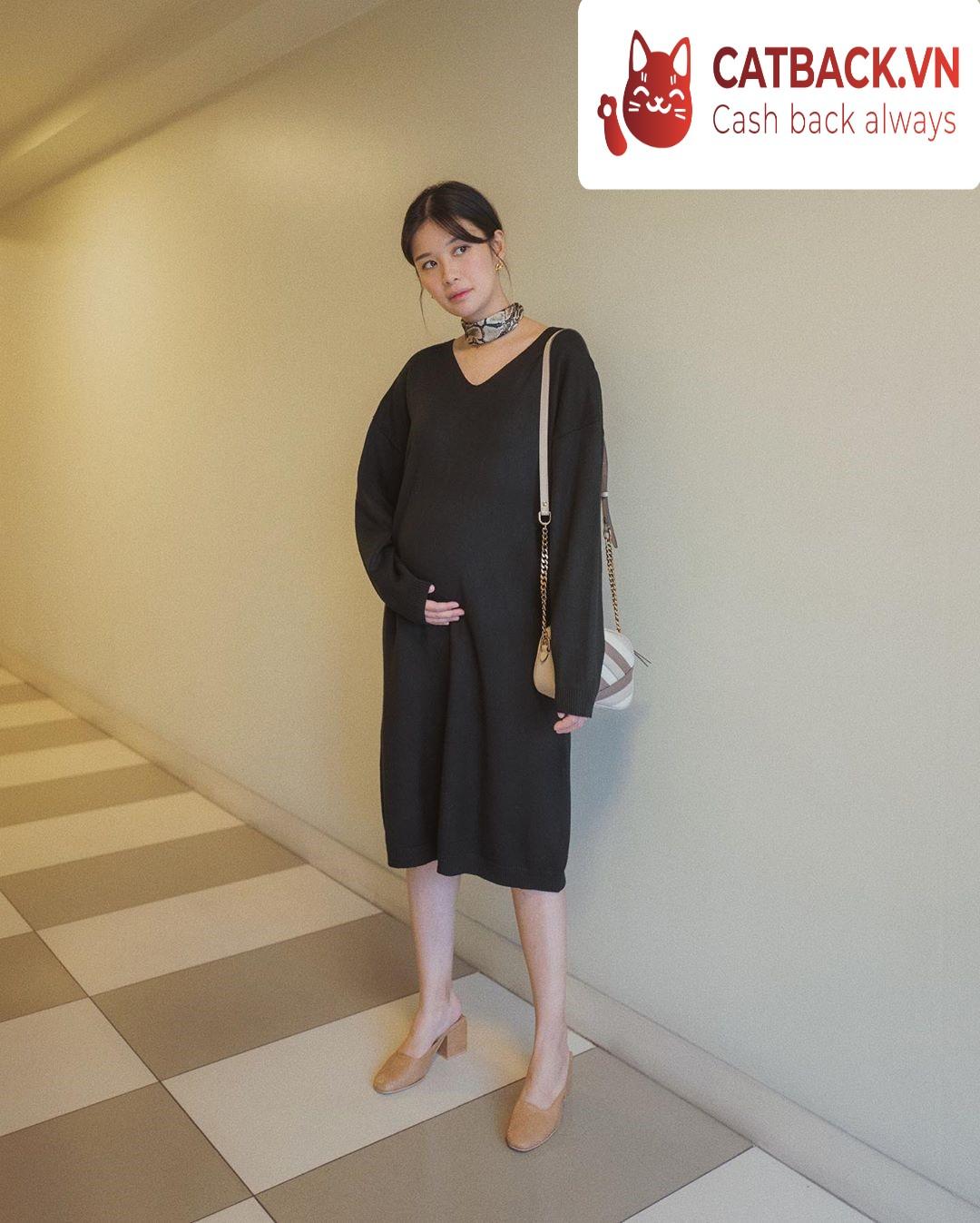 Mẹo giúp mẹ bầu mặc đẹp ở 3 tháng cuối thai kỳ