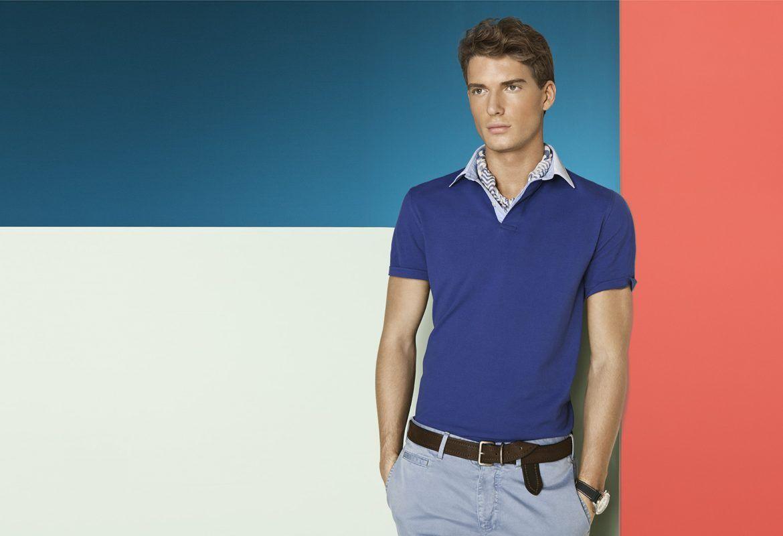 Áo thun nam Polo được thiết kế đầy trẻ trung và năng động