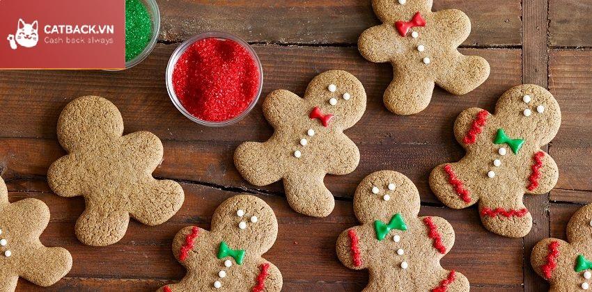 Tặng bánh - Quà trong dịp Giáng Sinh mang đến sự ấm áp
