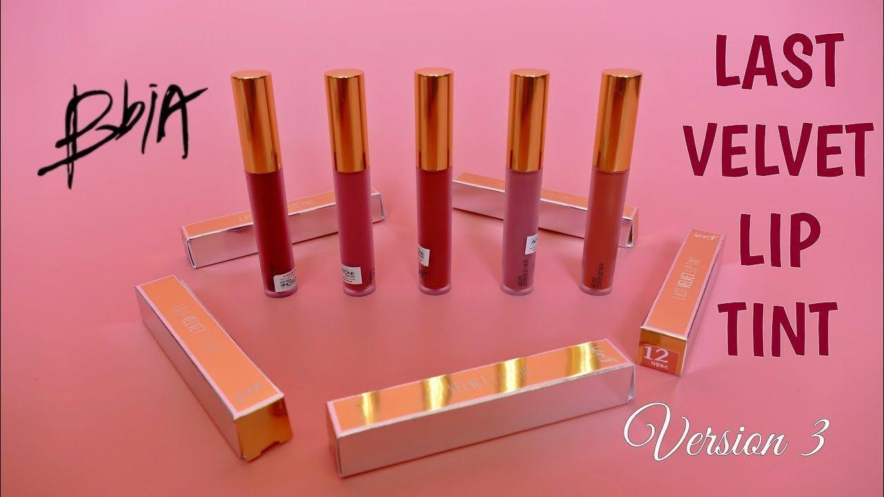 Son Hàn Quốc BBIA Last Velvet Lip Tint