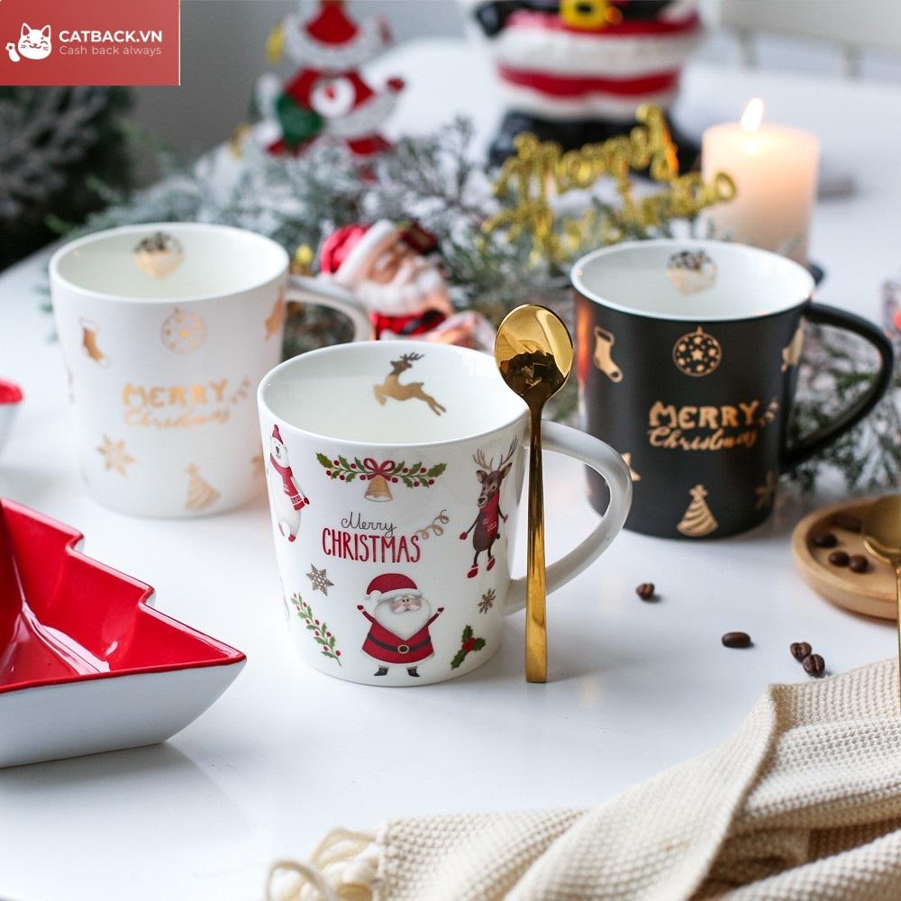 Tặng cốc - Quà trong dịp Giáng Sinh đơn giản