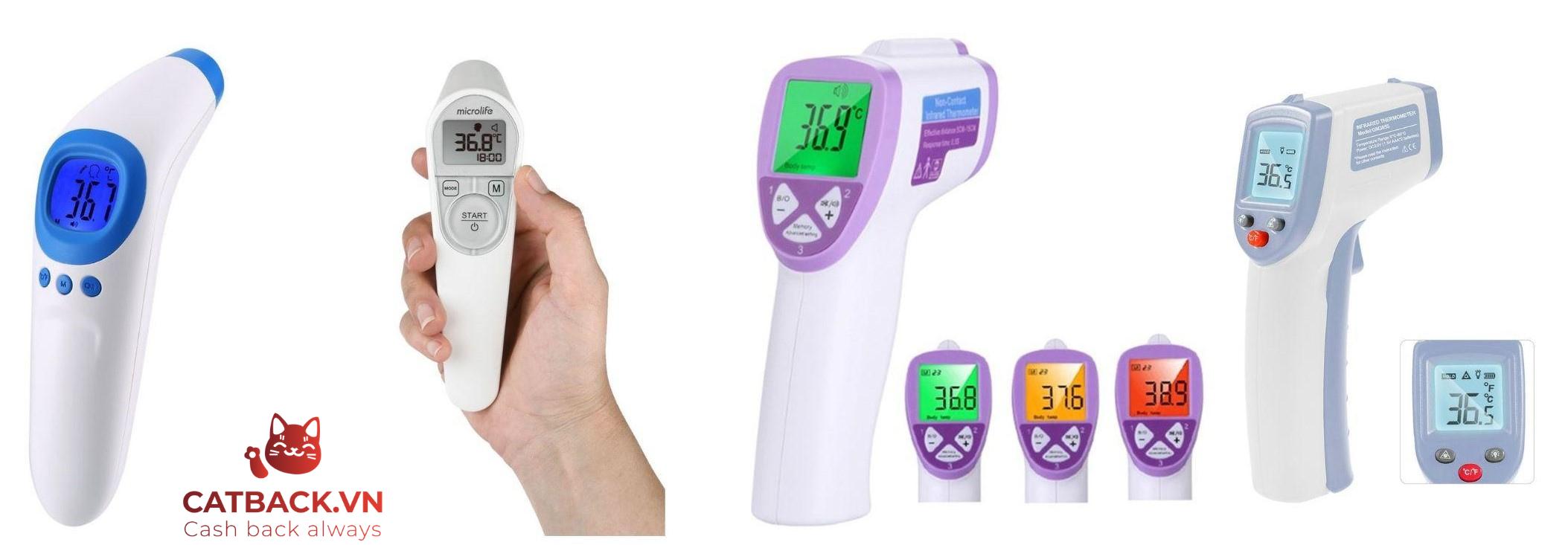 Các loại nhiệt kế hồng ngoại phổ biến hiện nay