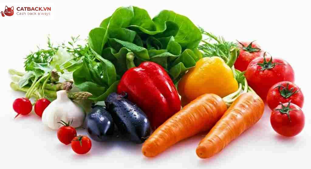 Ăn nhiều rau xanh và trái cây giúp bạn kiểm soát cân nặng hiệu quả