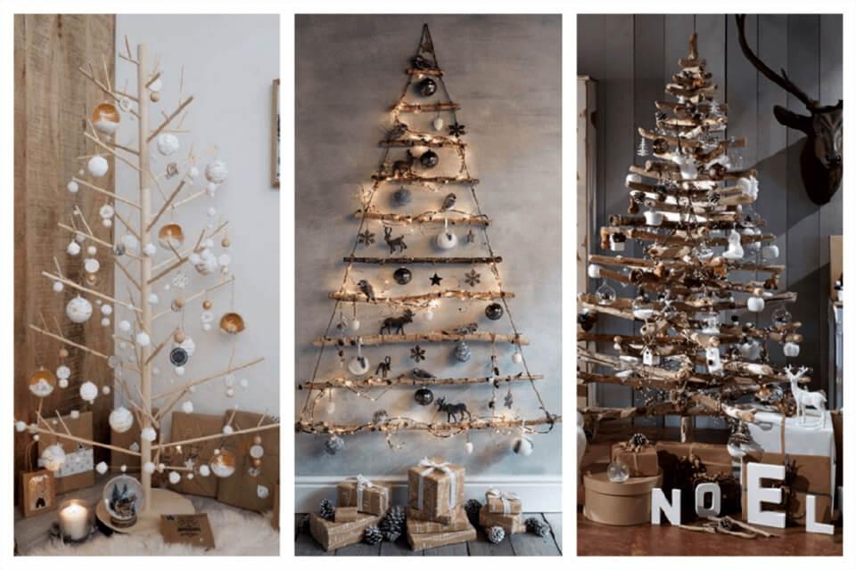 Làm cây thông Noel để tự trang trí