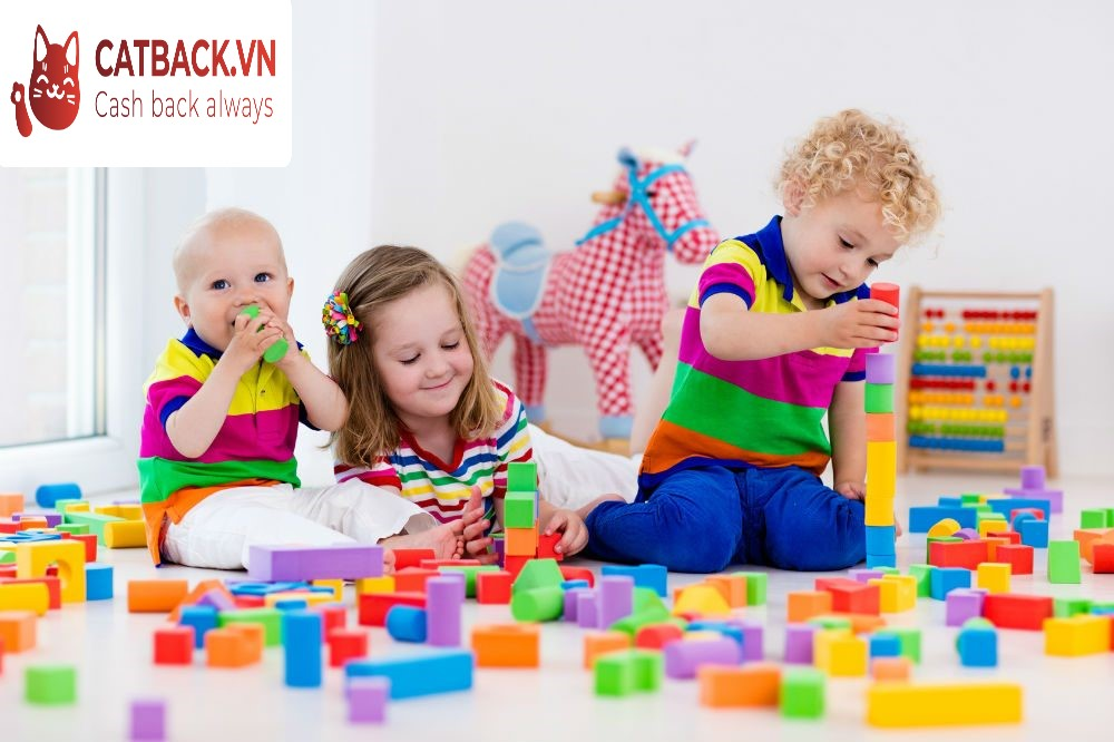Lựa chọn đồ chơi cho bé theo độ tuổi