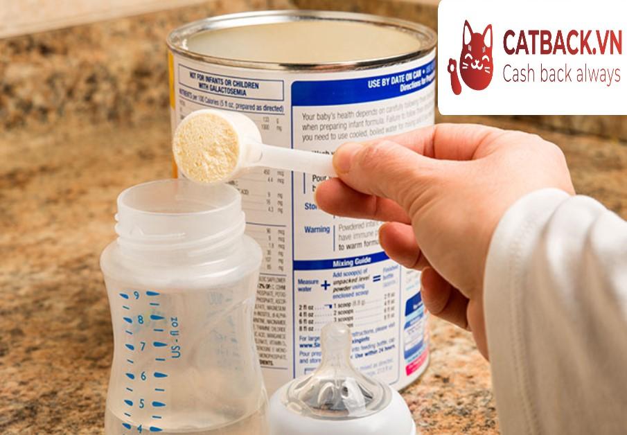Sữa công thức có thành phần phù hợp với thể trạng của đứa trẻ