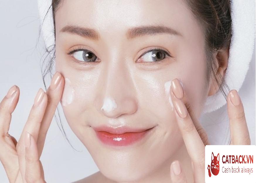 Thực hiện đầy đủ các bước để cải thiện tình trạng da