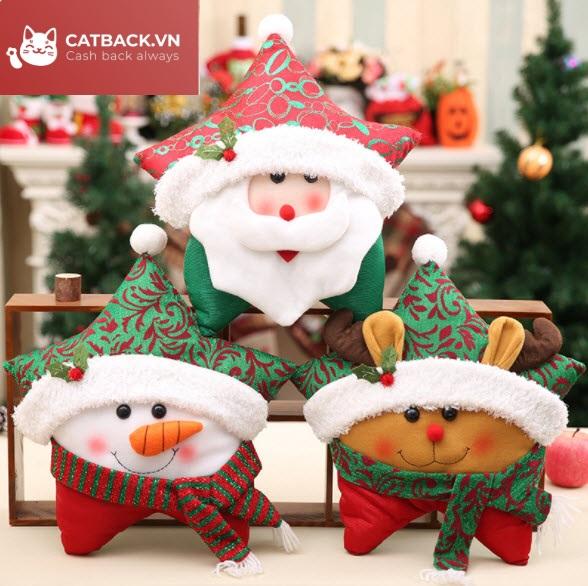 Tặng gối (thú bông) - Quà trong dịp Giáng Sinh quen thuộc