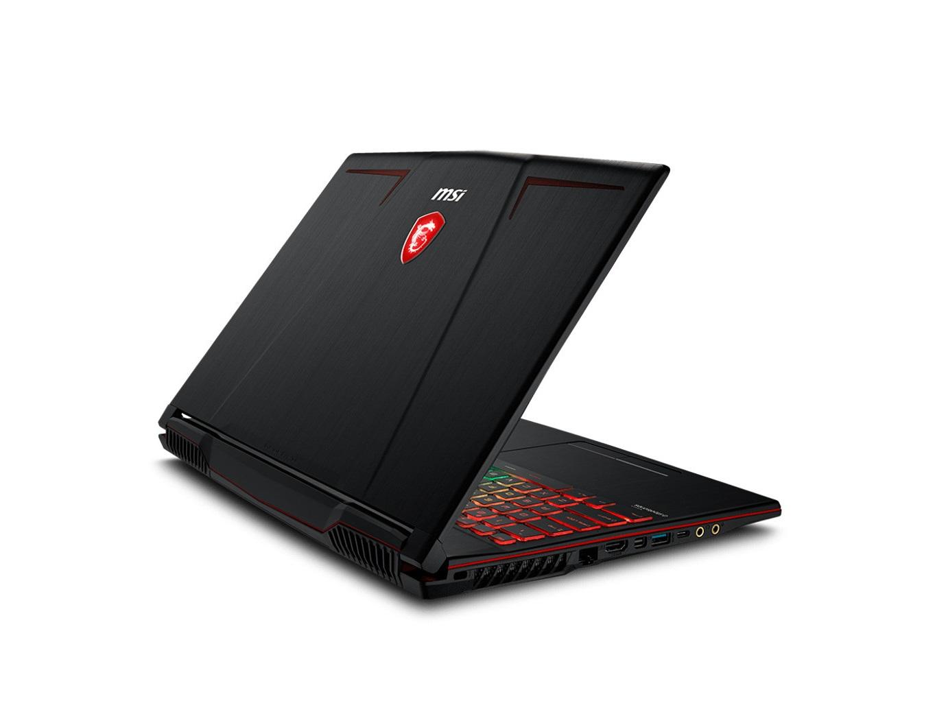 Về thiết kế của laptop gaming MSI