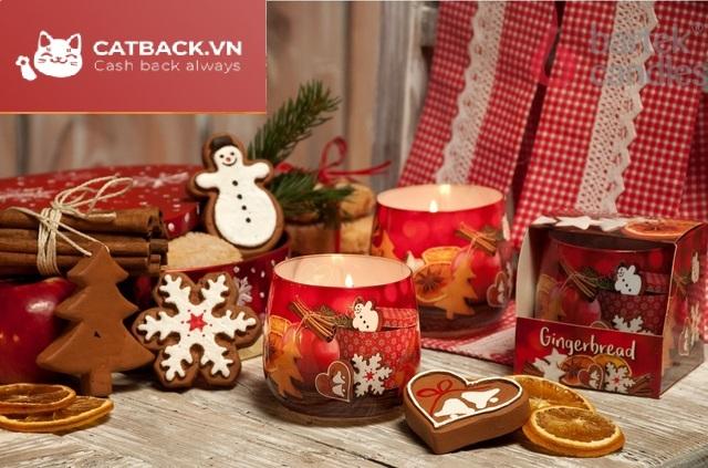 Tặng nến - Món quà trong dịp Giáng Sinh mang đến sự lãng mạn