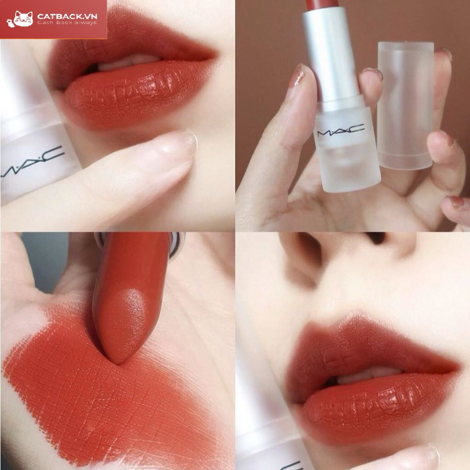Son hot trend dạng thỏi MAC Loud And Clear