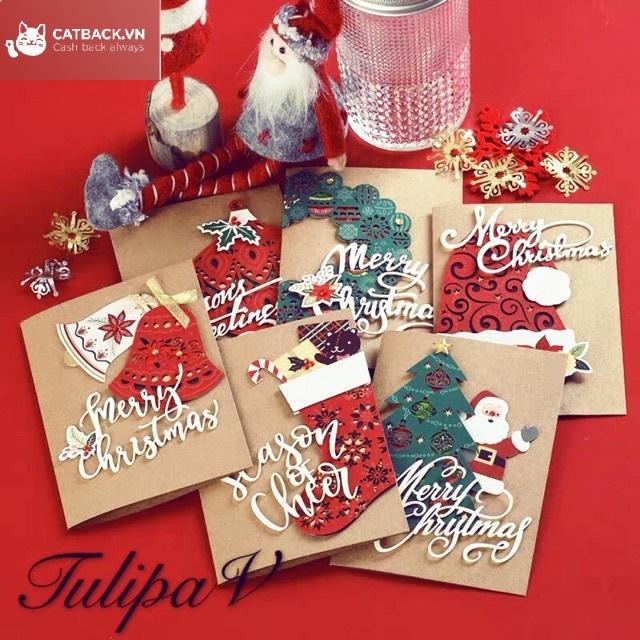 Tặng thiệp chúc - Quà trong dịp Giáng Sinh mang ý nghĩa tinh thần