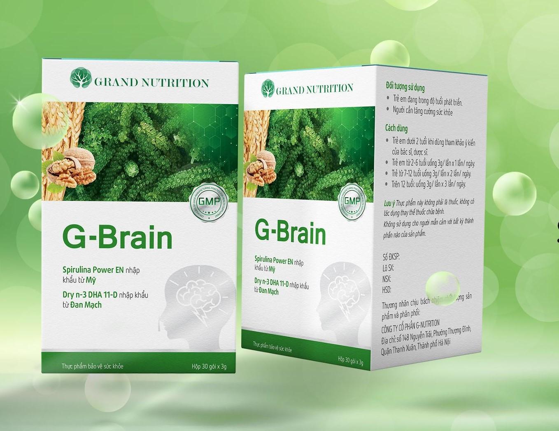 Giới thiệu về Cốm trí não G-Brain