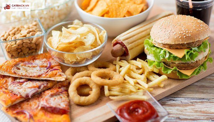Hạn chế nạp thực phẩm rác vào cơ thể