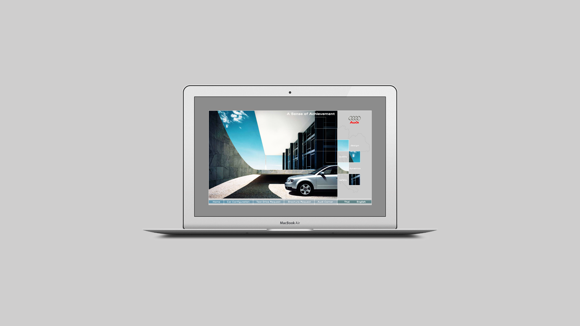 Degito Portfolio Audi A4 Microsite Design and Development