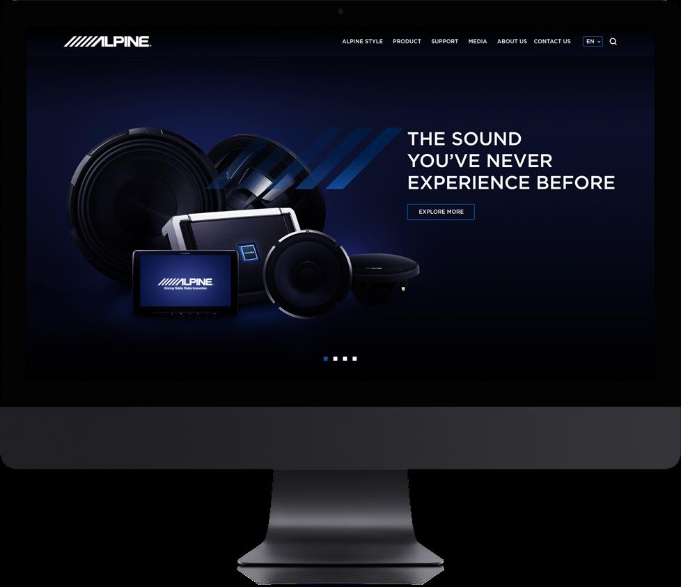 Degito Portfolio Alpine (Asia) Website Design and Development