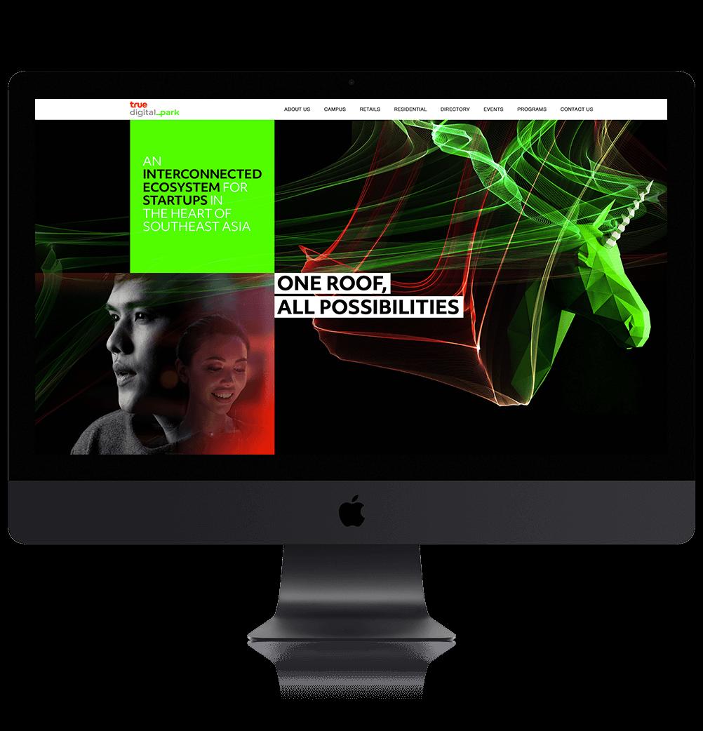 Degito Portfolio True Digital Park Website Design and Development