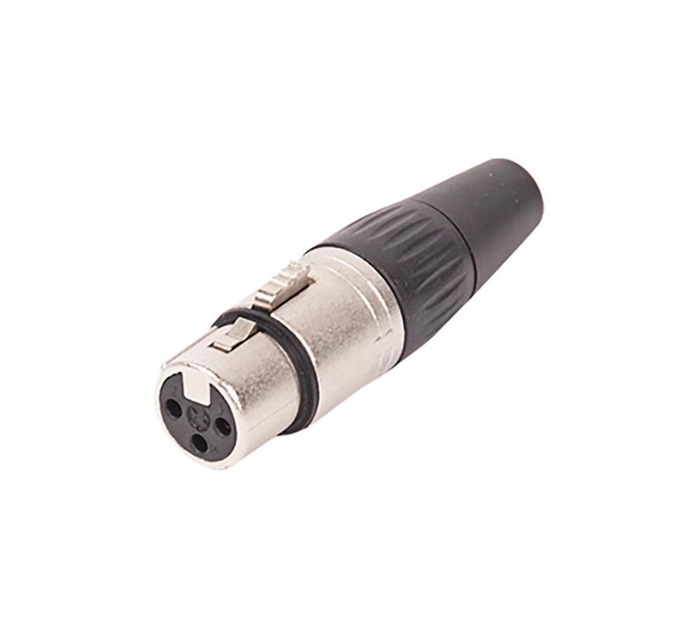 XLR Connector-Female (Silver)