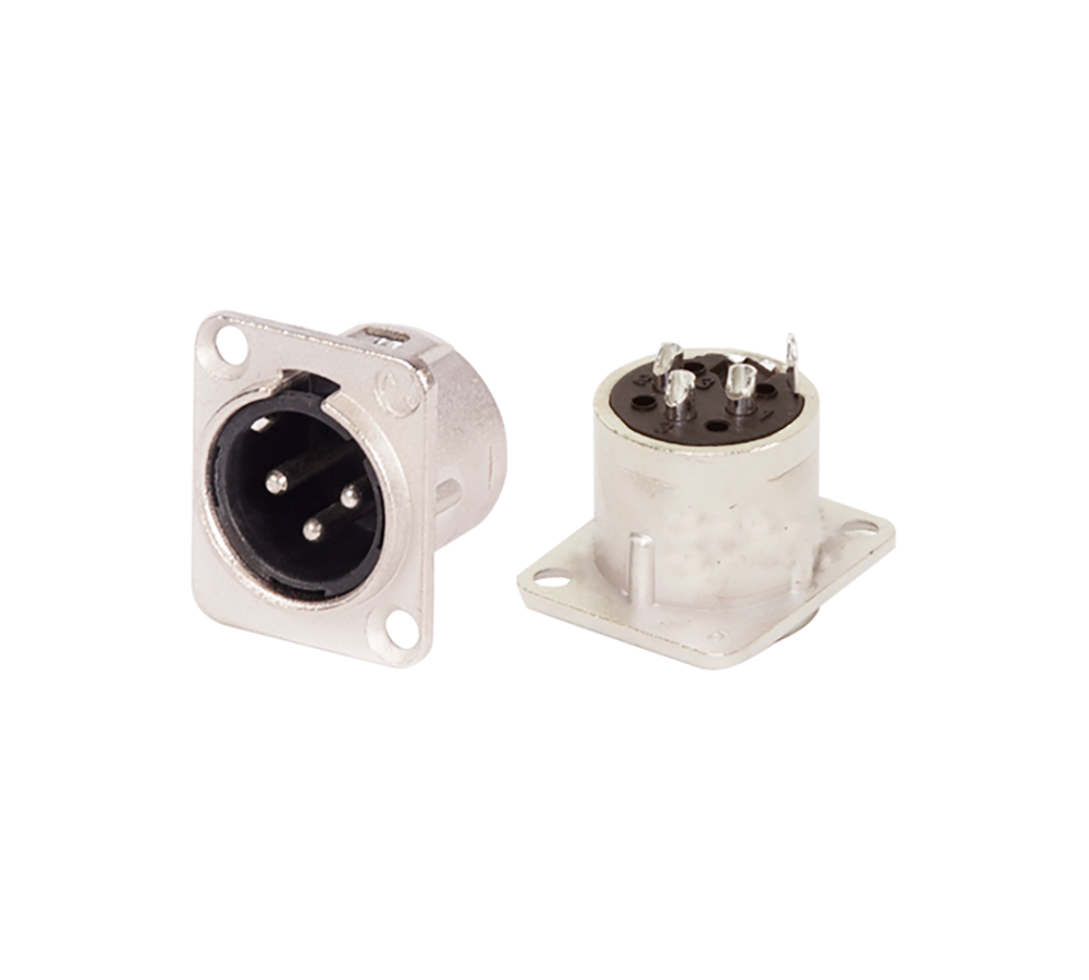 XLR Chassis Connector-Male